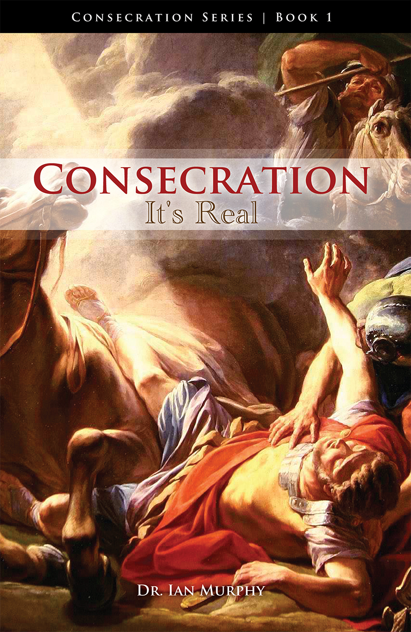 Consecration: It's Real Book Cover