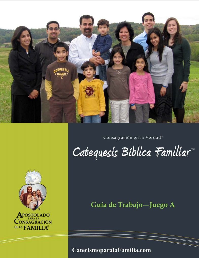 Cover for Spanish Family Catechesis